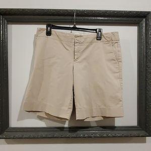 Light Tan Bermuda Shorts